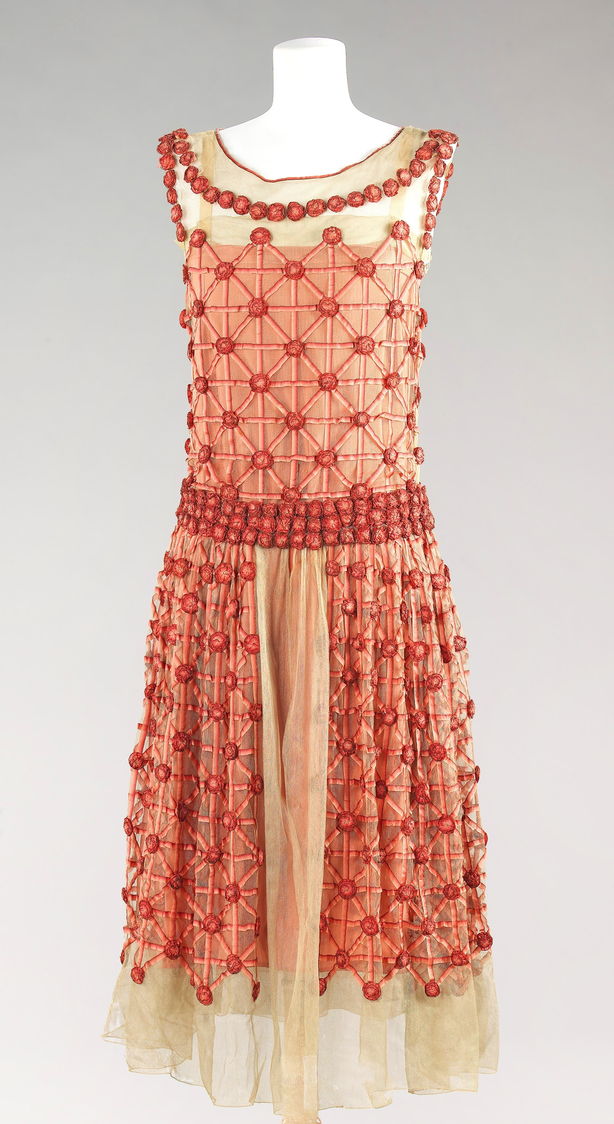 1923 House of Lanvin. French. Silk. metmuseum