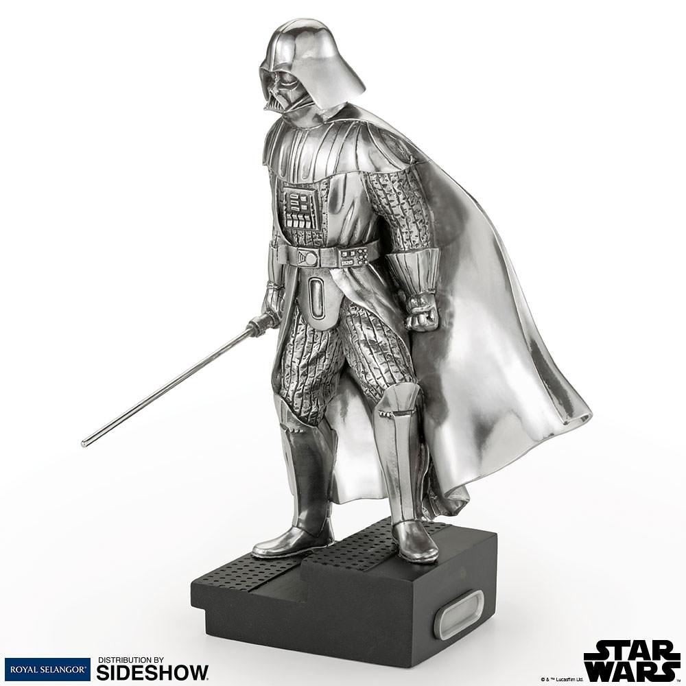 嶄新風格的黑武士收藏品!!Sideshow「黑武士達斯.維德」合金小雕像 Darth Vader Figurine