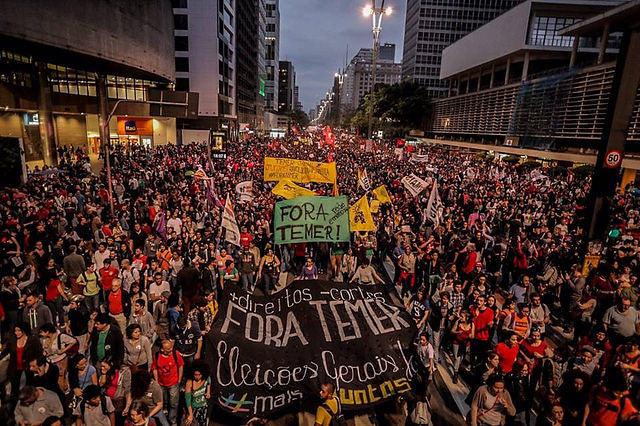 Confira a agenda de protestos por 'Diretas Já' em todo o Brasil