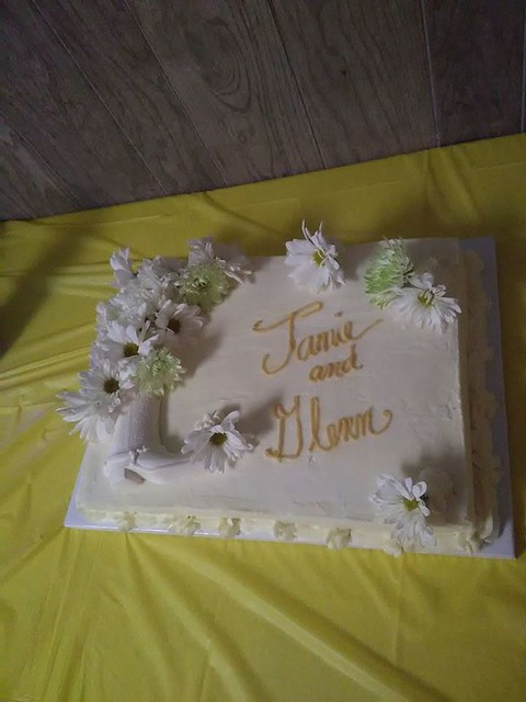 Cake by Lupe Anthony Mitchell of The Wooden Spoon