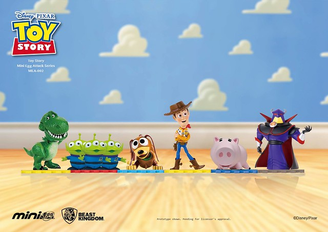 錢包又要變扁惹~~野獸國 Mini Egg Attack 系列【玩具總動員】Toy Story MEA-002
