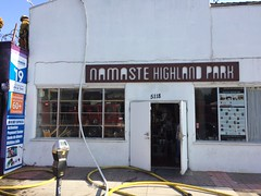 051717- Commercial Fire in Highland Park