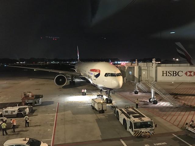 The Long Way to London Part 2 – British Airways Club World