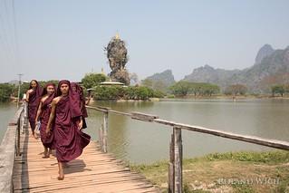 Hpa An - Kyauk Ka Lat Pagoda