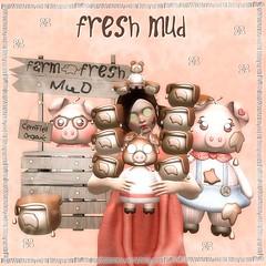 Fresh mud :)
