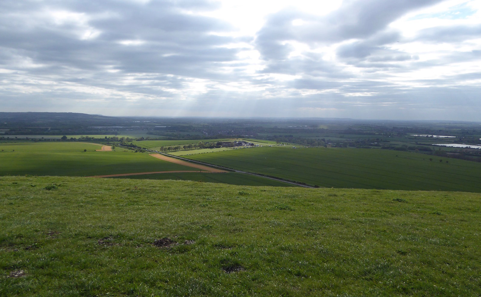 View from Ivinghoe Beacon Tring Circular walk