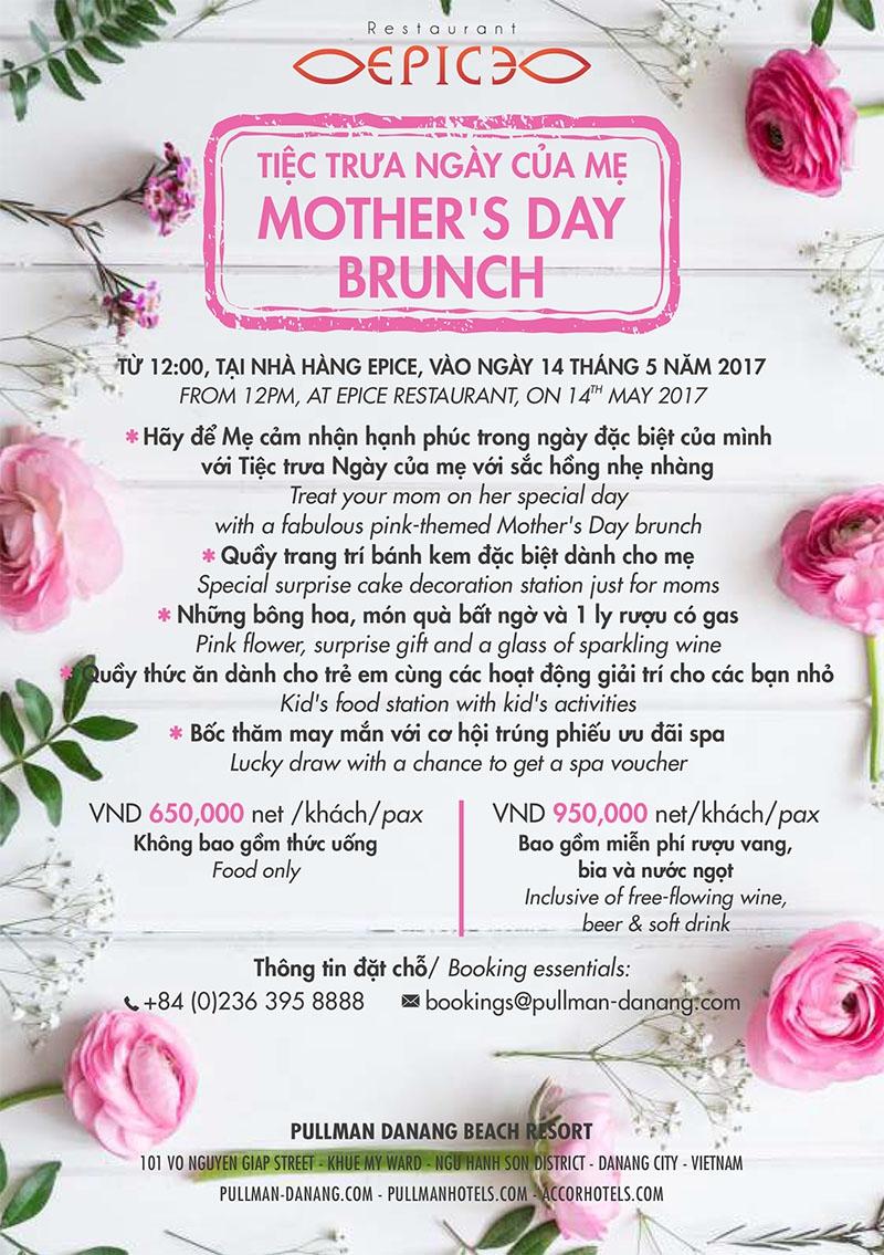 Pullman Danang Beach Resort - Mother's day Brunch 2