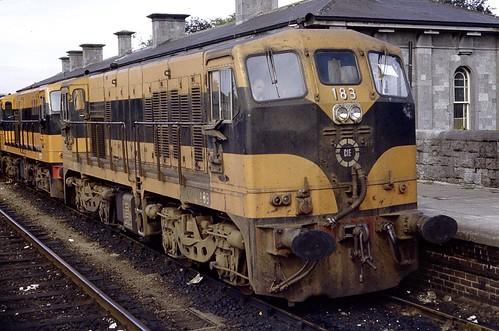 cie diesellocomotive irishrailways generalmotors 181class bclass athlone train trein railway railroad dieselloco vlok