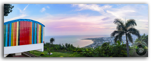 Panoramic View of Kailasagiri Hill overlooking Vizag City and the Beach