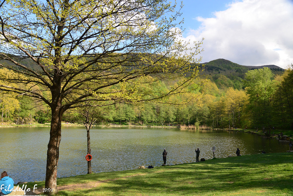 Lago dei pontini map forl cesena italy mapcarta - Lago pontini san piero in bagno ...