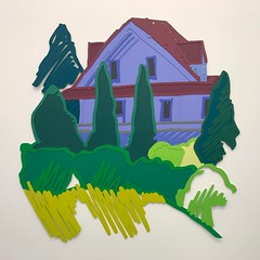 Tom Wesselmann - Tennanah Lake House 1992 #steel #alkyd #art #sculpture #artny #nyc #nyartfairs @tom_wesselmann