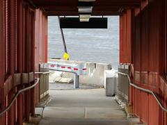 Exit through the harbor