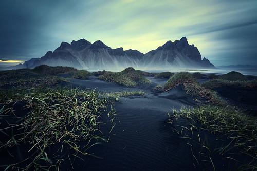 Vestrahorn Islande por EtienneR68