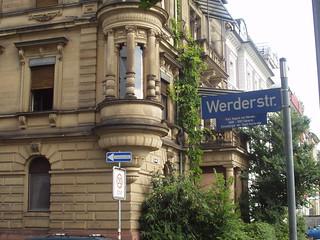 Werderstraße Ecke Ettlinger Straße