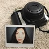 The first photo I ever took was on a Polaroid. The love affair continues with #fujifilminstax  #selfportrait #asian #photographer #photography #newtoy #instaxwide300 #cheekbones