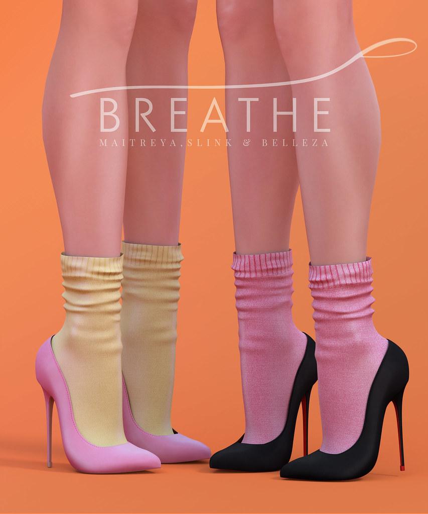 [BREATHE]-Sarah Heels - SecondLifeHub.com