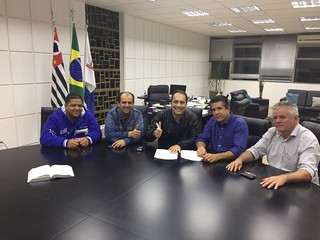 David Martins entrega Emenda Parlamentar em Mauá