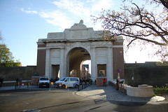 The Menin Gate Ypres.