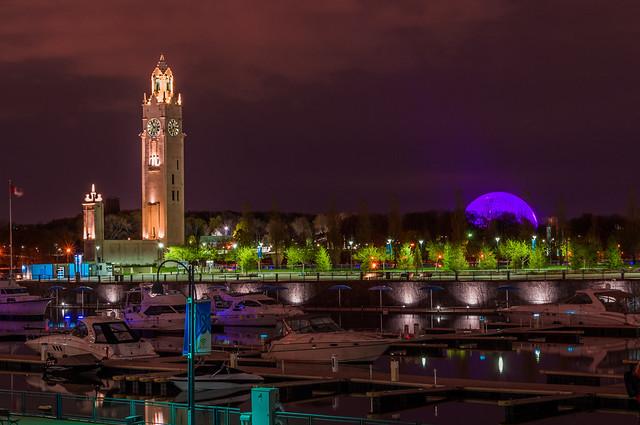 Tour de l'horloge / Montreal Clock Tower