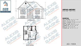 Plan de maison 1 étage - MM1e.03