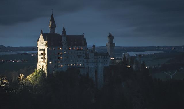 The castle of Neuschwanstein, Nikon D3200, AF-S DX Nikkor 18-140mm f/3.5-5.6G ED VR