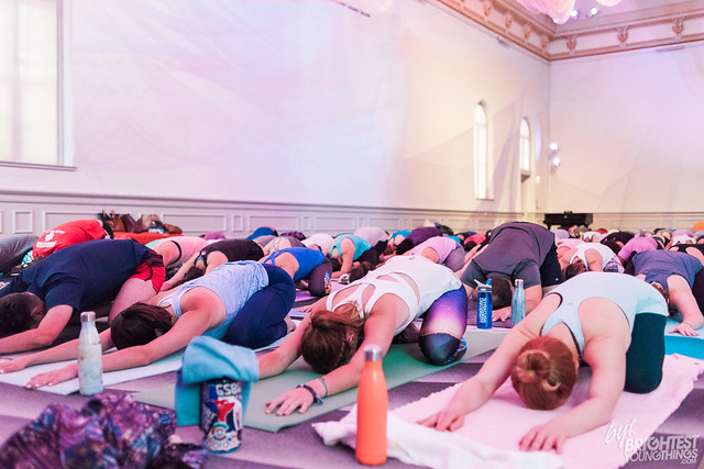BYT + Lululemon Yoga at Renwick Gallery