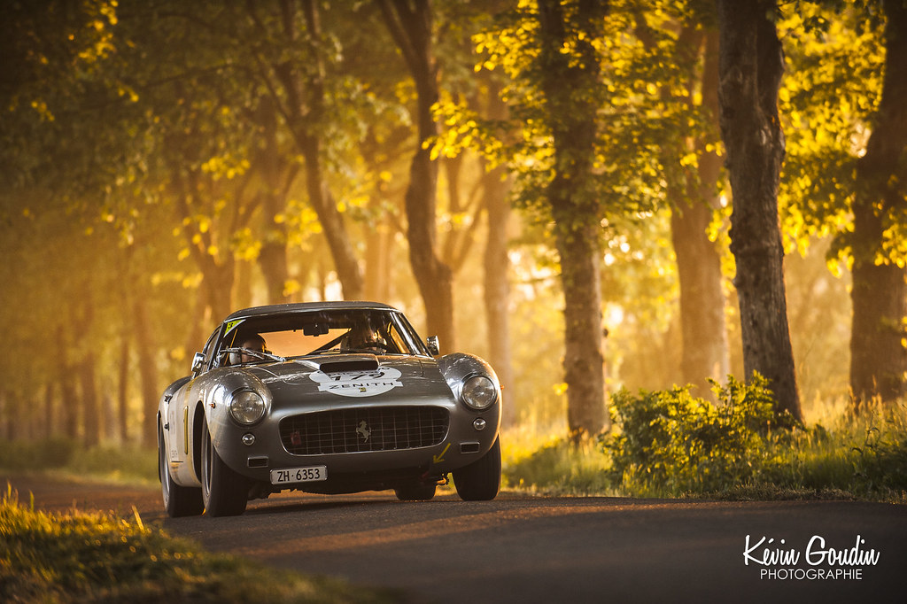 Morning light with Ferrari 250GT SWB