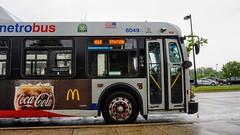 WMATA Metrobus 2006 New Flyer DE40LFR #6049