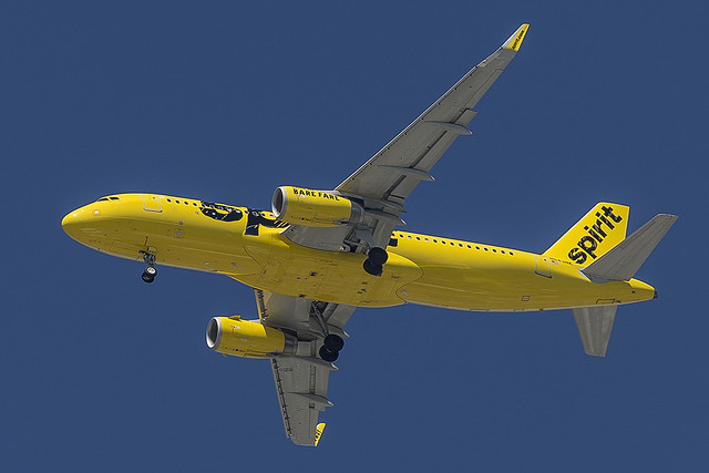 Spirit Airlines Airbus A320-232 N643NK