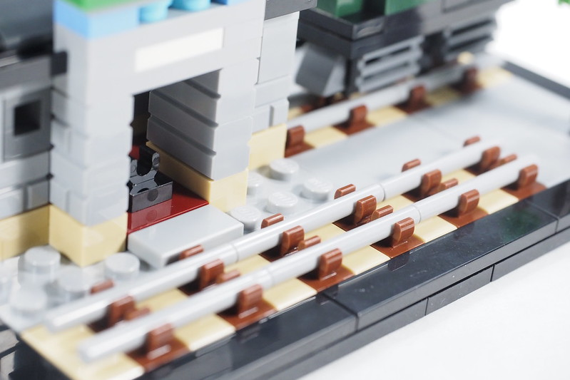 LEGO Old Taipo Market Railway Station Mini-Build