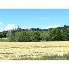 Monte San Vito osservato dalla campagna di Chiaravalle.   #montesanvito #chiaravalle #igersancona #ig_ancona #igersmarche #ig_marche #igersitalia #ig_italy #destinazionemarche #marcheforyou #marchediscovery #vivo_italia #vivomarche #yallersitalia #yallers