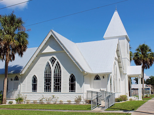 architecture church presbyterian carpentergothic gothicrevival dunnellon florida