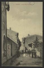 Peyrus - Grande Rue et clocher