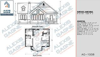 Plan de maison 1 étage - MM1e.04