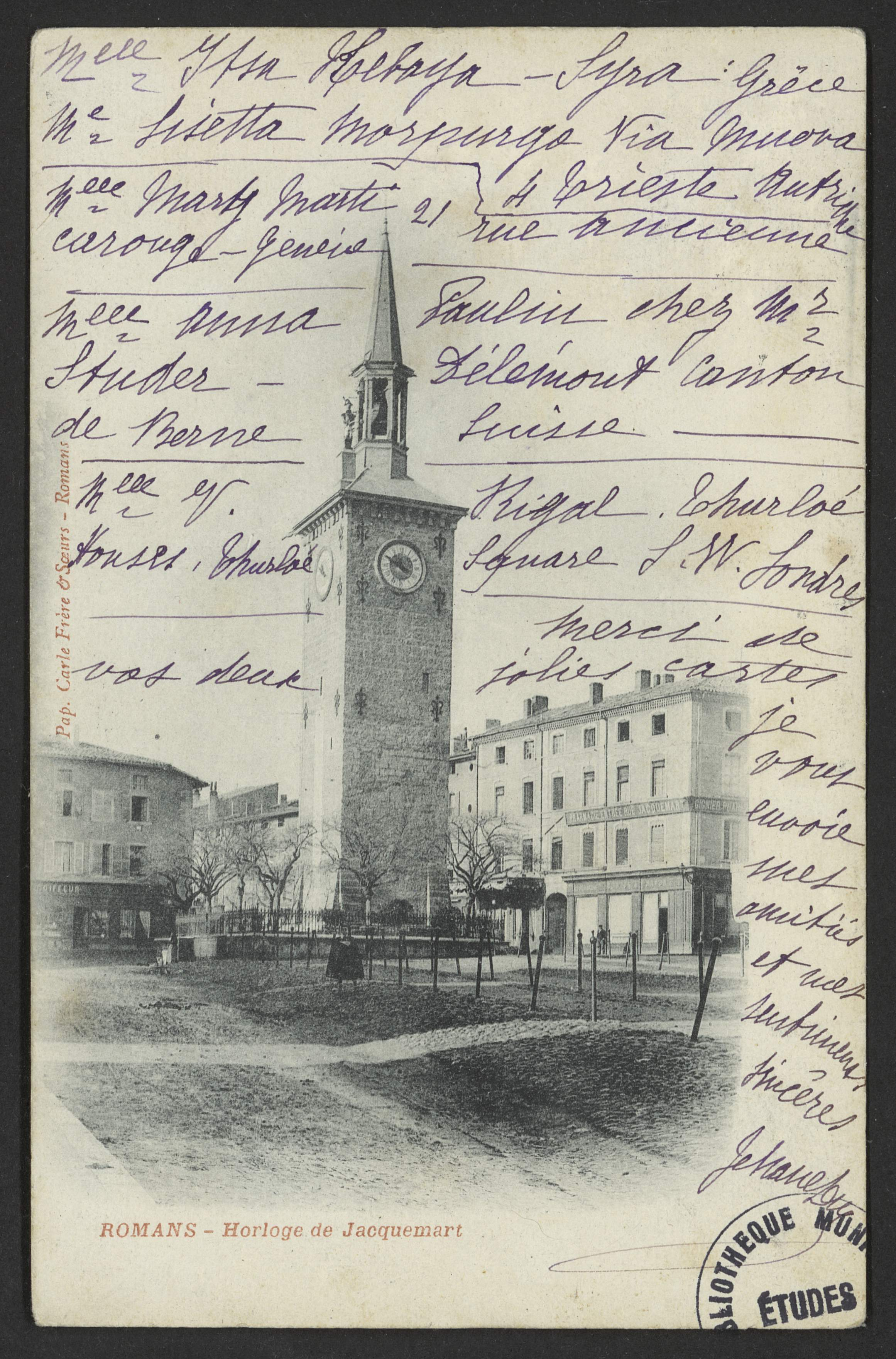 Romans - Horloge de Jacquemart