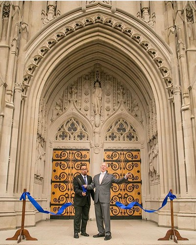 #tbt to a year ago today when our beloved @dukechapel reopened its doors after a yearlong closure for restoration work. #pictureduke #dukechapel #dukeuniversity // PC: @dukechapel
