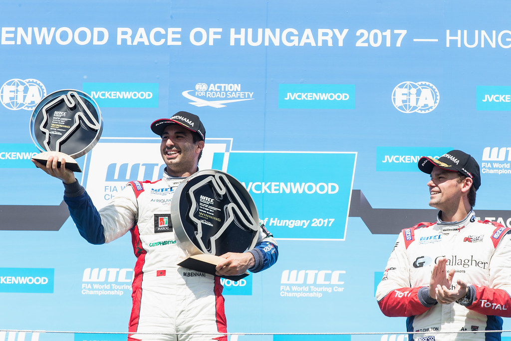 BENNANI Mehdi (mor), Citroen C-Elysee team Sébastien Loeb Racing, ambiance portrait during the 2017 FIA WTCC World Touring Car Race of Hungary at hungaroring, Budapest from may 12 to 14 - Photo Jean Michel Le Meur / DPPI
