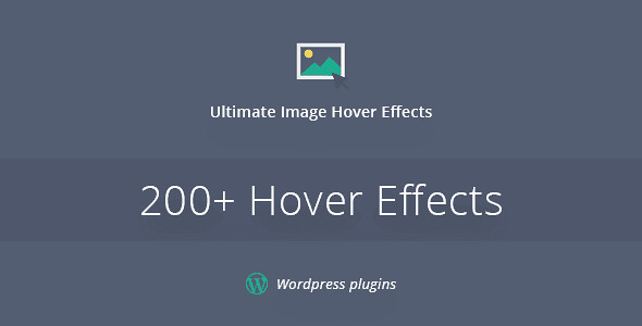 Ultimate Image Hover Effects WordPress Plugin free download