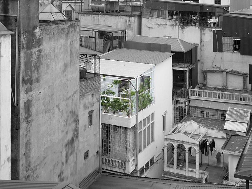 Không gian xanh thư giãn của Nguyễn Hùng tại Hà Nội