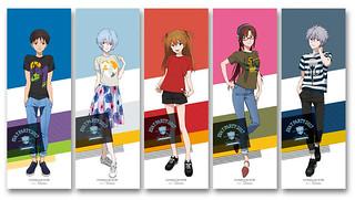 邁入第五週年!《新世紀福音戰士》EVA T PARTY 2017 「福音戰士原創 T-Shirt(EVA STORE TOKYO-01オリジナル エヴァコレTシャツ)」新品登場!