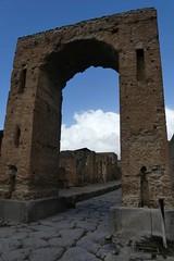 006 Arch of Caligula (Nero) towards Via Mercurio, (2)
