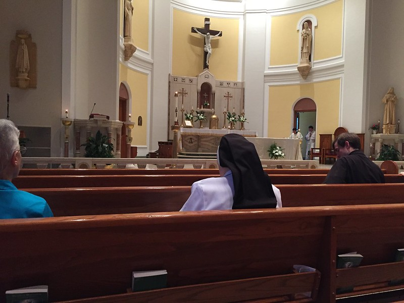 Fermin and Michael visiting seminaries