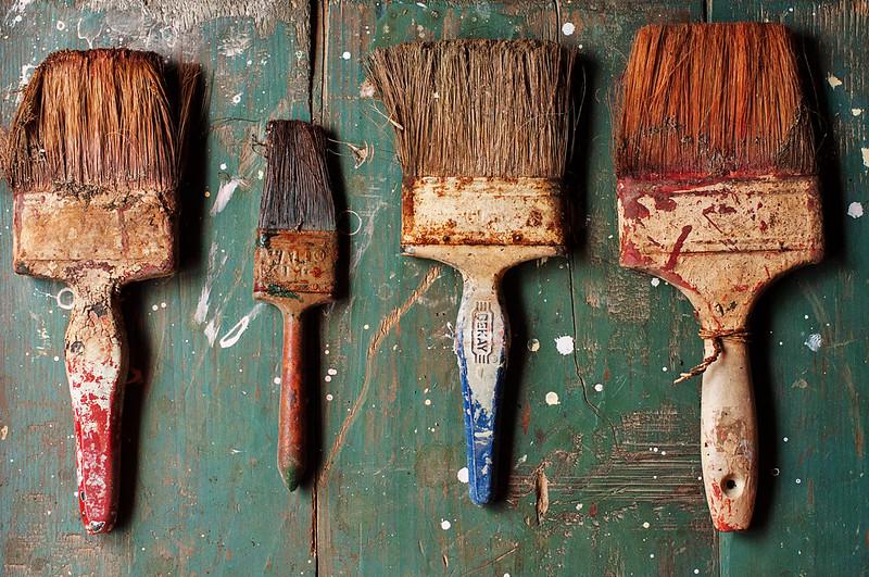 Day 79/365 - Abandoned  Brushes