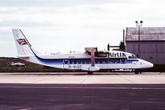 G-BLZT Short 360 Air UK Humberside 01-06-1991