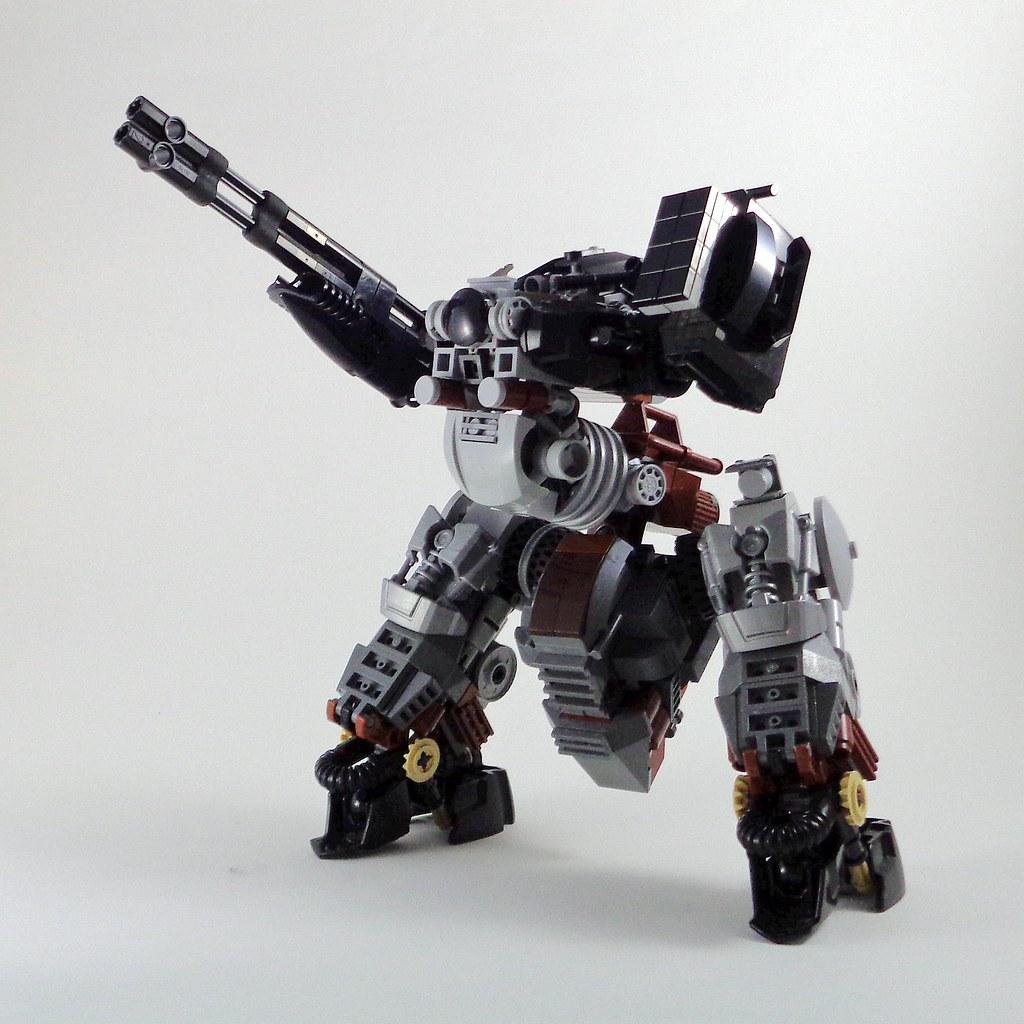 AD 2 Mech (custom built Lego model)