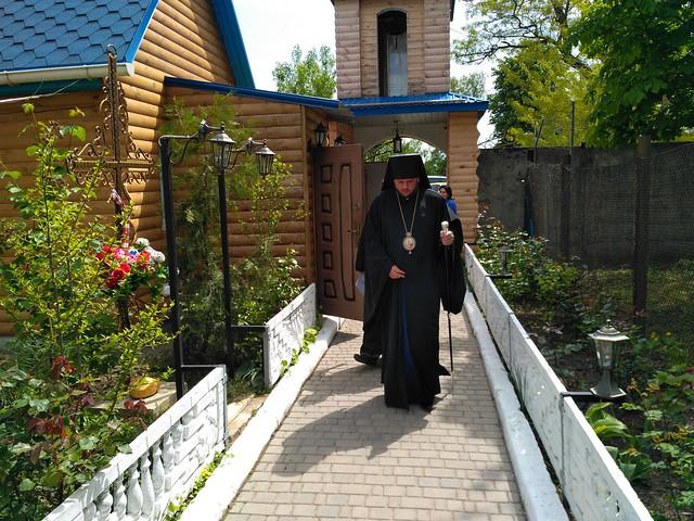Єпископ Одеський і Чорноморський в Свято-Кирило-Мефодіївському подвір'ї