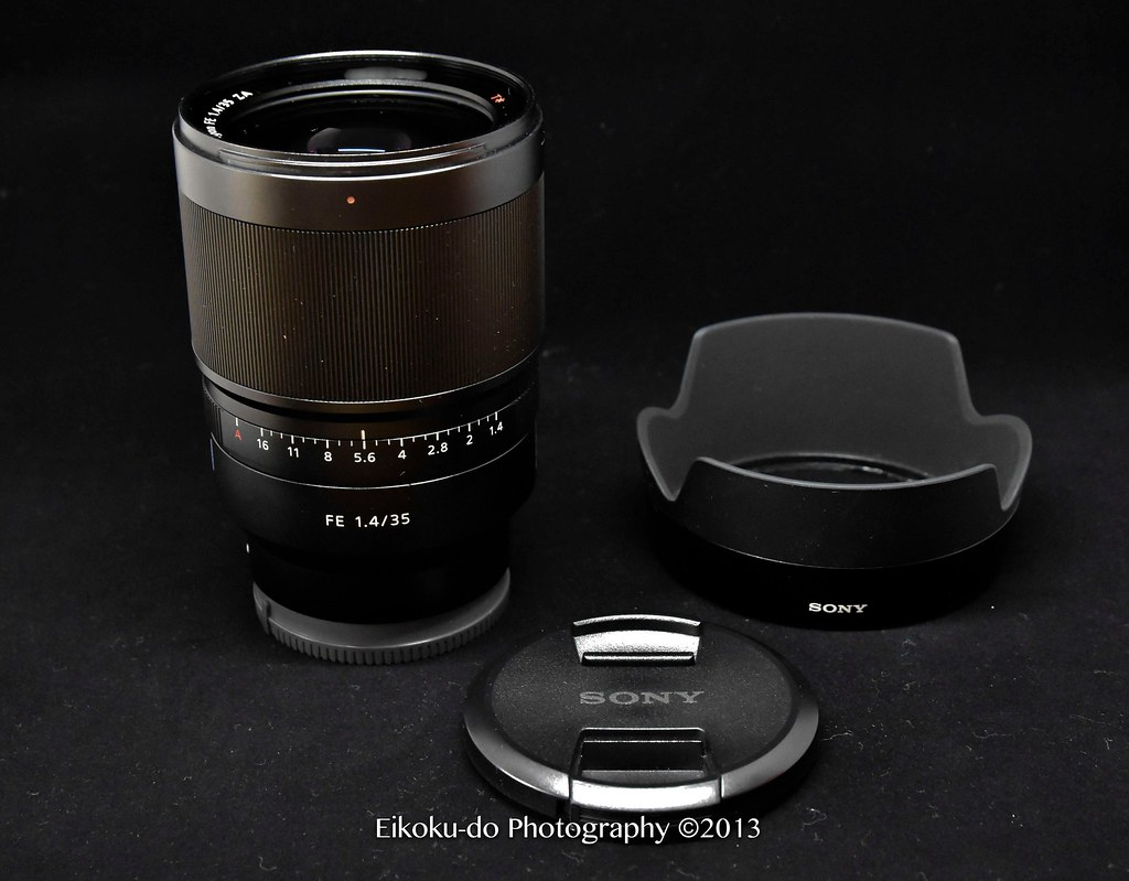 Sony FE35F14z Distgon T*