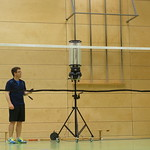Training mit Fuat und Ballmaschine