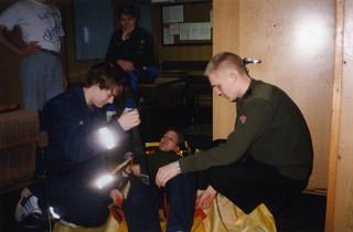 Ensiapukoulutusta VL Valppaalla 2.2.1994
