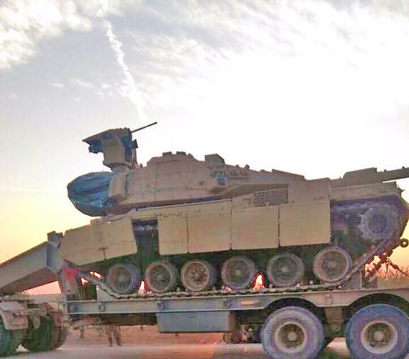 Τουρκικό M60T εξοπλισμένο με τηλεχειριζόμενο πύργο οπλισμού